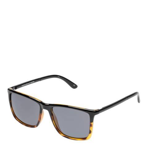 LeSpecs Black Tortoiseshell Tweedledum Sunglasses