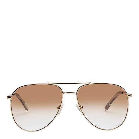 LeSpecs Bright Gold Road Trip Sunglasses