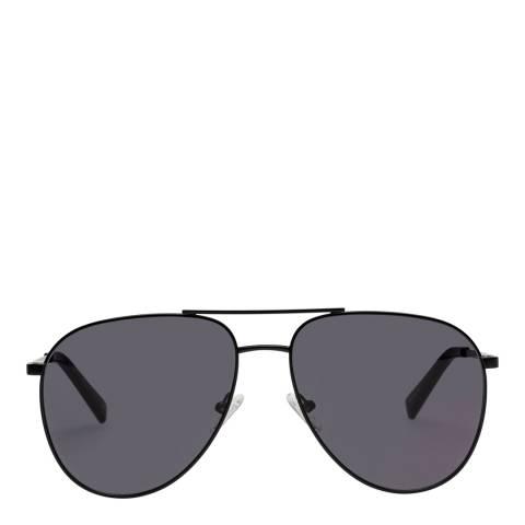 LeSpecs Matte Black Road Trip Sunglasses