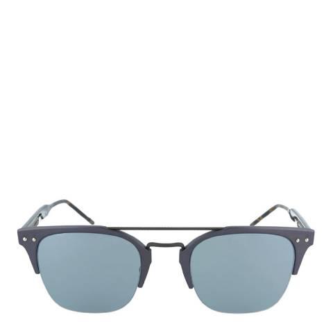 Bottega Veneta Unisex Blue/Havana Bottega Veneta Sunglasses 52mm