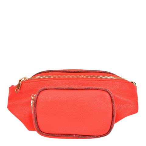 Carla Ferreri Red Belt Bag