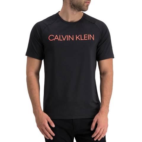 Calvin Klein Black/Coral Logo Tee