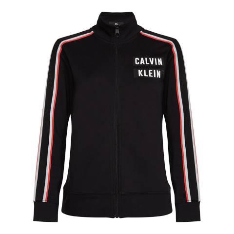 Calvin Klein Black Fz Jacket