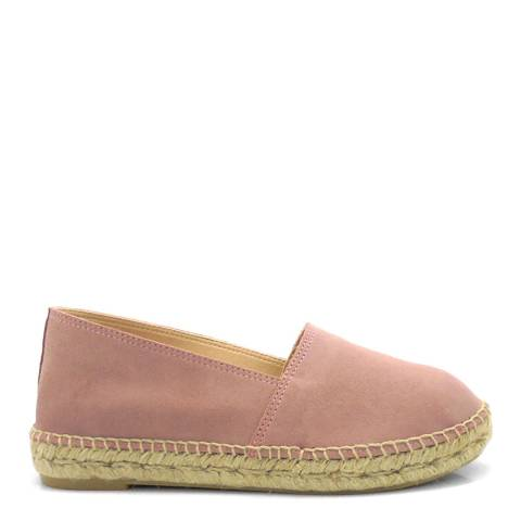 Paseart Pink Suede Espadrilles