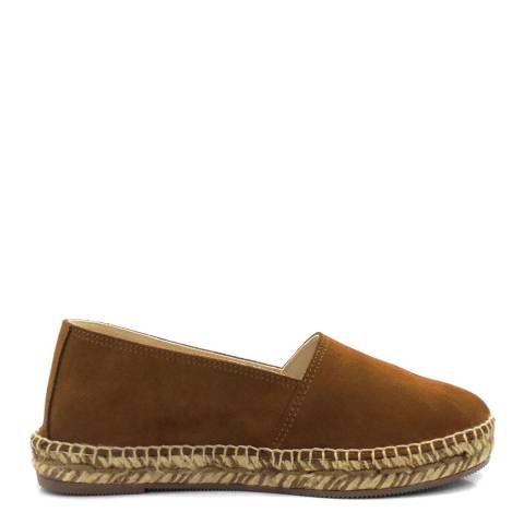 Paseart Brown Suede Spanish Espadrille