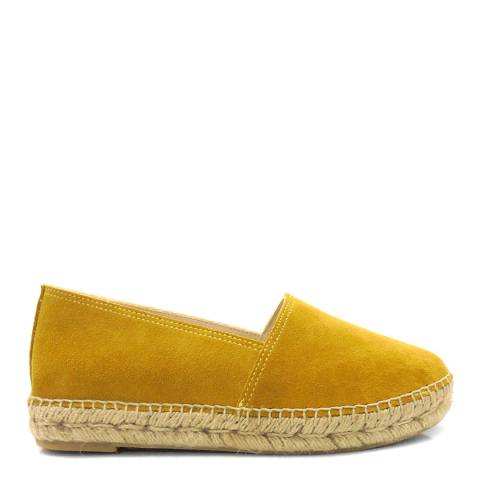 Paseart Yellow Suede Espadrilles