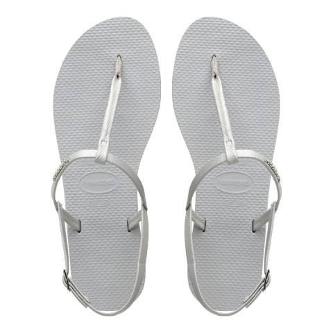 Havaianas Ice Grey You Riviera Sandals
