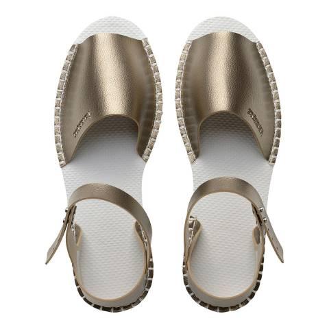 Havaianas Gold Origine Flatform Fashion Sandals