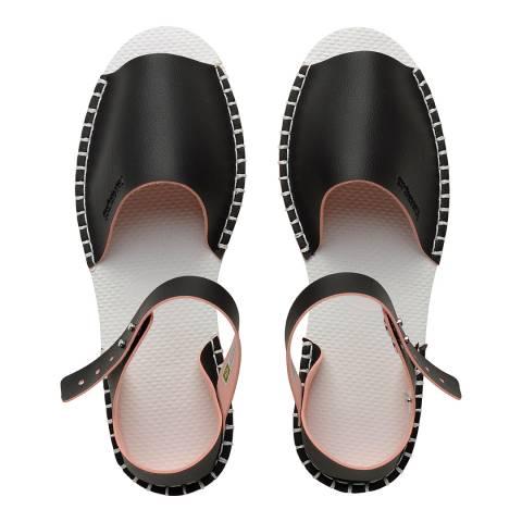 Havaianas Black/Pink Origine Flatform Fashion Sandals
