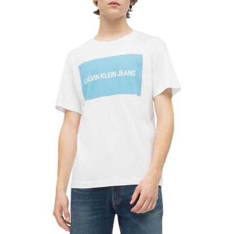Calvin Klein White Box Logo Regular T-Shirt