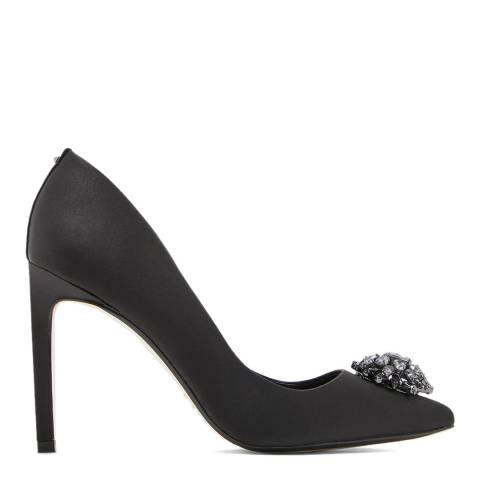 Ted Baker Black Brydien Brooch Court Shoes