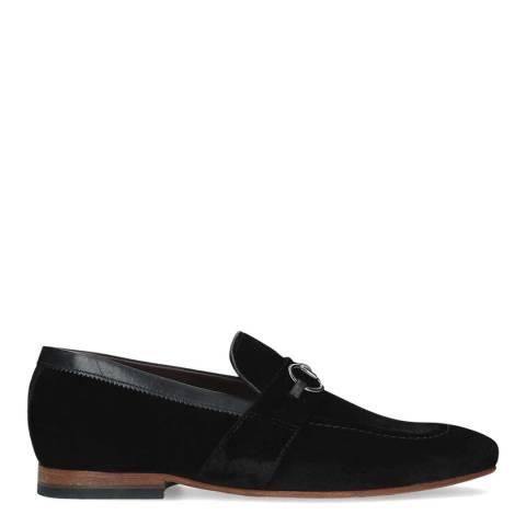 Ted Baker Black Affil Textile Loafer