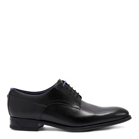 Ted Baker Black Vatory Leather Derby Shoes