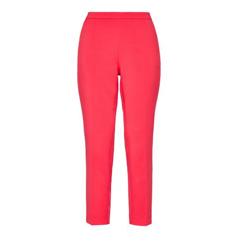 Ted Baker Pink Anitat Cotton Trousers
