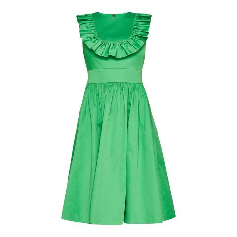 Ted Baker Bright Green Awrah Midi Dress