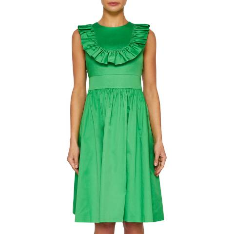 Ted Baker Bright Green Awrah Midi Dress