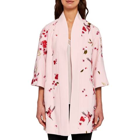 Ted Baker Light Pink Isolede Spring Kimono