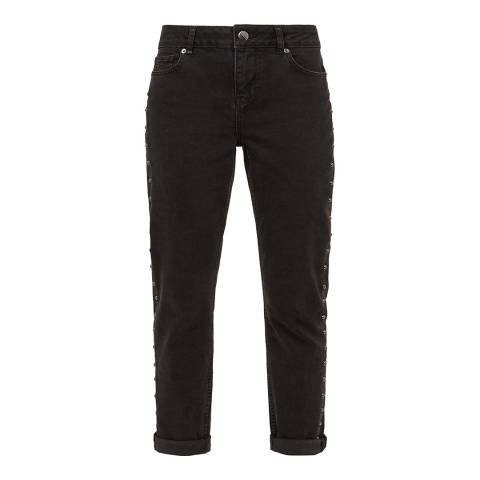Ted Baker Grey Corly Metal Stud Jean