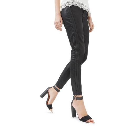 Ted Baker Black Kasse Side Cord Skinny Jean
