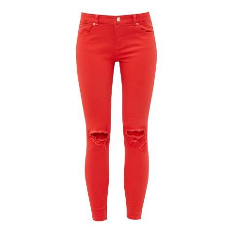 Ted Baker Red Swansa Skinny Jean
