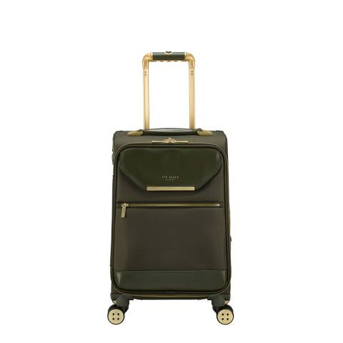 Ted Baker Olive Small Albany 4 Wheel Suitcase