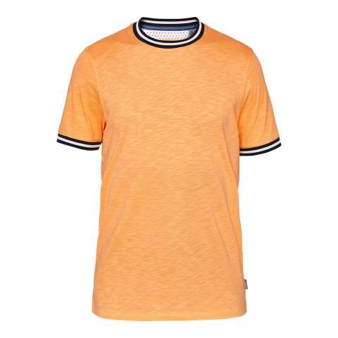 Ted Baker Orange Corgz Stripe Detail T-Shirt