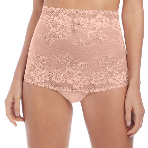 Wacoal Rose Dust Lace To Love High Waist Thong