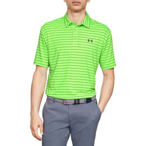 Under Armour Green Playoff Polo