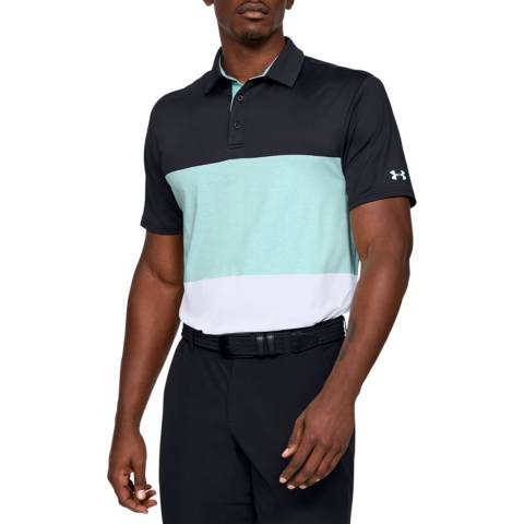 Under Armour Black Playoff Polo