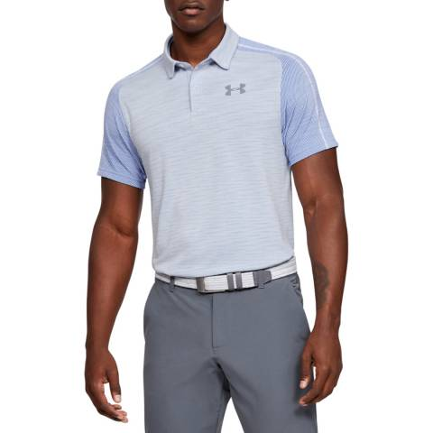 Under Armour White Tour Tips Seamless Polo
