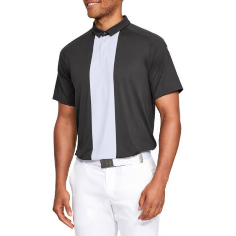 Under Armour Grey Iso Chill Stream Polo