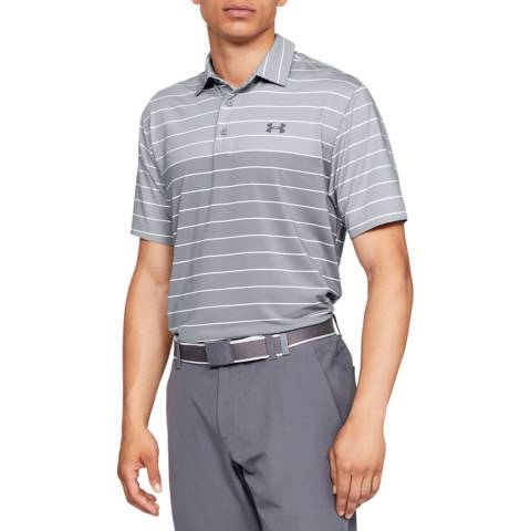 Under Armour Grey Playoff Polo