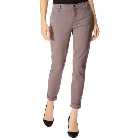 J Brand Grey Josie Tapered Jeans