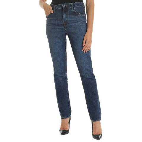 J Brand Blue Ruby 30 Cigarette Stretch Jeans