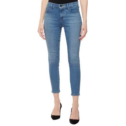 J Brand Blue 835 Crop Skinny Stretch Jeans