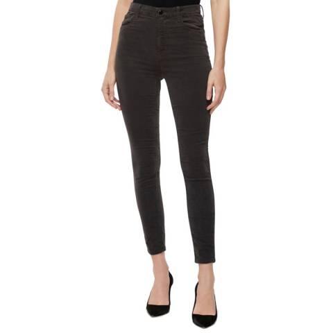 J Brand Black Leenah High Rise Skinny Stretch Jeans