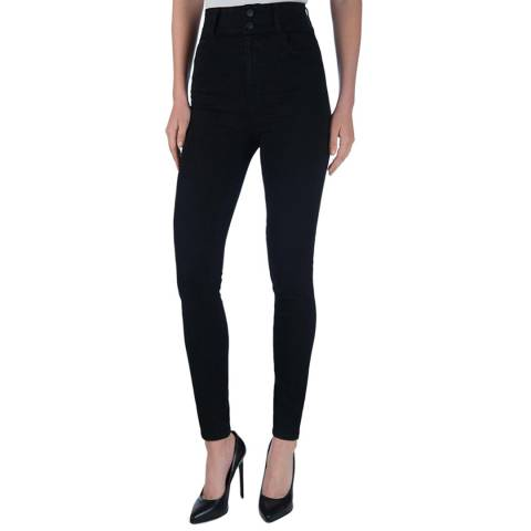 J Brand Black Elsa Saturday Stretch Jeans