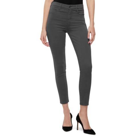J Brand Slate Alana Crop Skinny Stretch Jeans