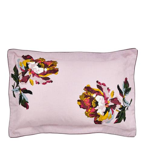 Joules Heritage Peony Oxford Pillowcase, Lilac