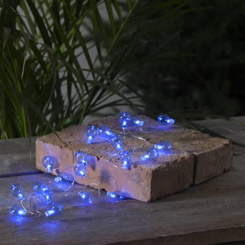 Lighting Editions Blue Outdoor Globe String Lights