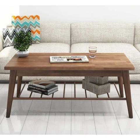 Vivense Sakura Coffee Table, Walnut