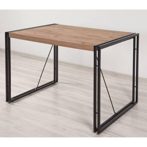 Vivense Cosmo Mensa Computer Desk, Oak & Black