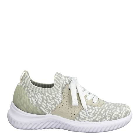 Jana Light Grey Sporty Sneakers