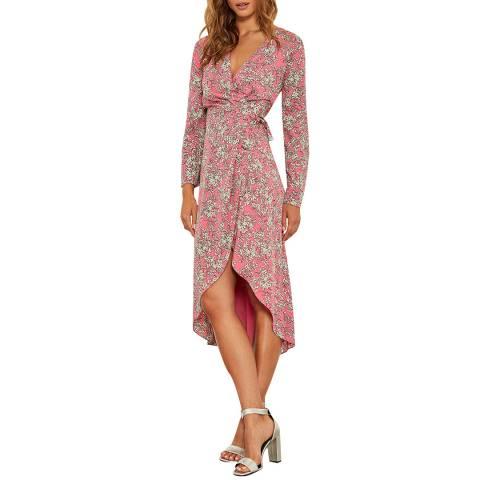 Mint Velvet Daisy Print Wrap Dress