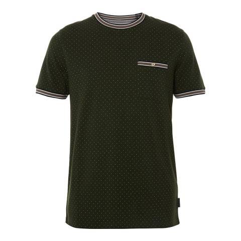 Ted Baker Green Mini Spot T-shirt