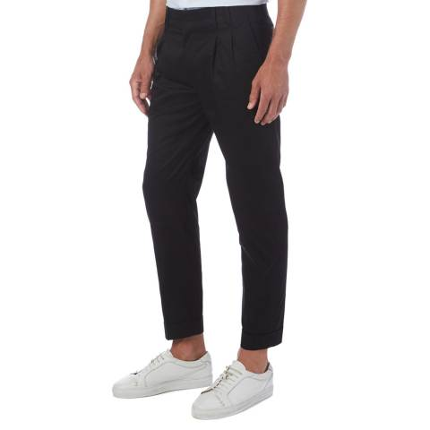 PAUL SMITH Navy Tailored Formal Trousers