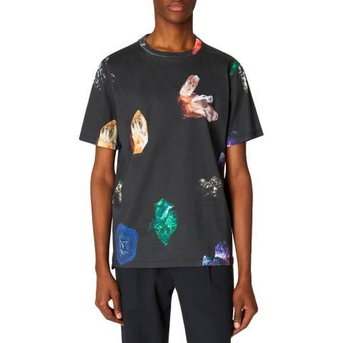 PAUL SMITH Charcoal Gem T-Shirt