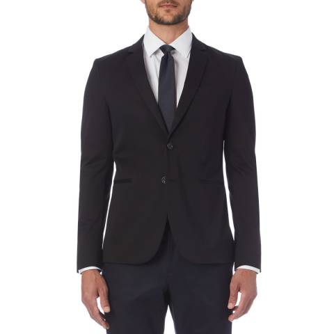 PAUL SMITH Navy Lined Tailored Jacket