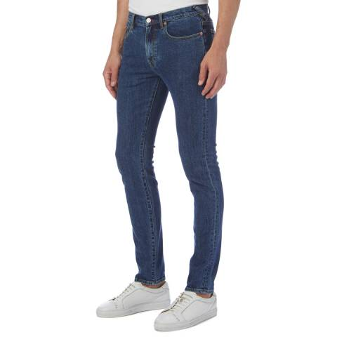 PAUL SMITH Blue Slim Stretch Jeans