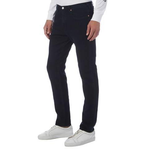 PAUL SMITH Dark Denim Tapered Stretch Jeans